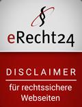Siegel - Disclaimer -